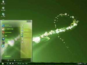 绿色情结电脑主题