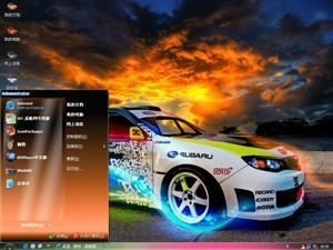 炫酷跑车Ⅱ电脑主题