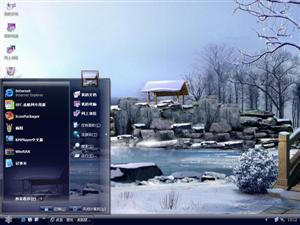 雪景电脑主题
