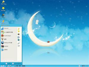 月亮小瓢虫电脑主题