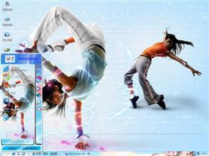 热舞青春Ⅱ电脑主题