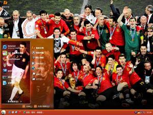 西班牙足球队电脑主题