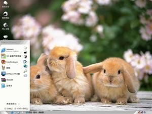小兔子电脑主题
