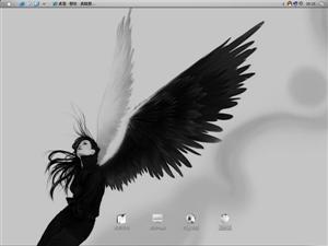 非主流-天使之翼电脑主题