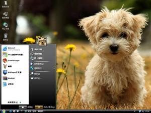 可爱狗狗Ⅱ电脑主题