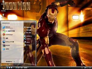 钢铁侠Ⅴ电脑主题