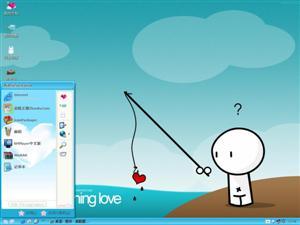 Fishing Love电脑主题