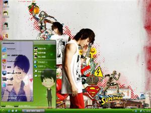Super Junior-李东海电脑主题