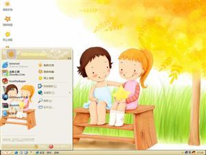 我的童话世界电脑主题