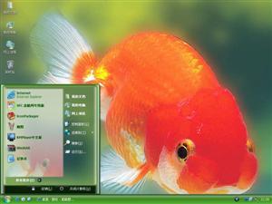 漂亮金鱼电脑主题
