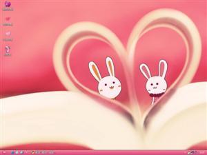 兔兔伴侣电脑主题