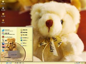 可爱泰迪熊电脑主题