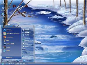 冬季风光电脑主题