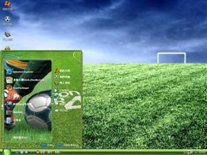 足球电脑主题