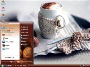 卡布奇诺咖啡电脑主题