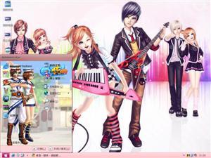 QQ炫舞游戏电脑主题