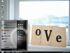 爱的心形电脑主题