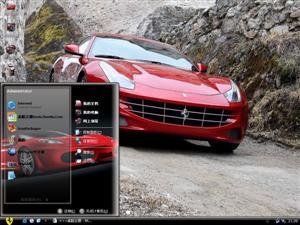 法拉利 FF 2011电脑主题