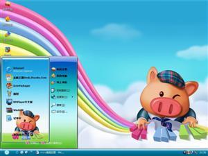 小猪班纳电脑主题