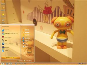 可爱玩偶电脑主题