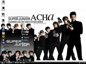 Super Junior组合电脑主题