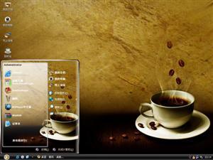 苦涩咖啡电脑主题
