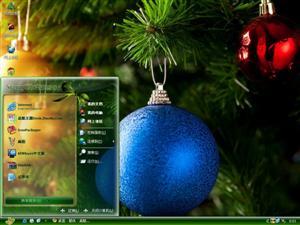 圣诞彩球电脑主题