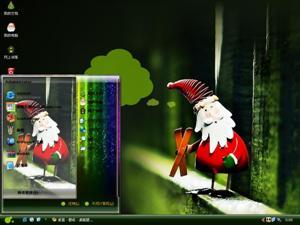 圣诞老人电脑主题