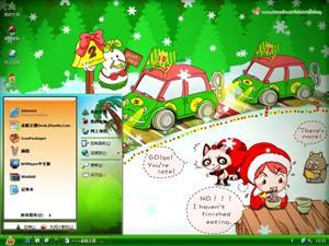 圣诞派对电脑主题