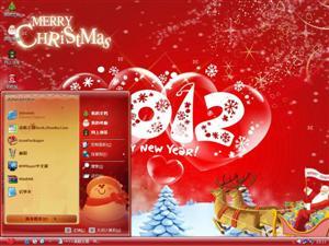 2012圣诞节电脑主题