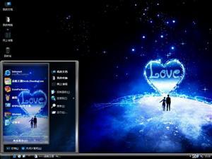 甜蜜的情人电脑主题