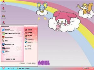 可爱卡通My Melody电脑主题