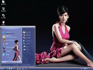 周慧敏美女电脑主题