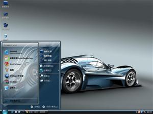 动感跑车电脑主题