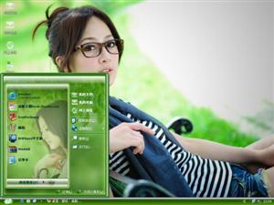 果子MM永和四号公园电脑主题