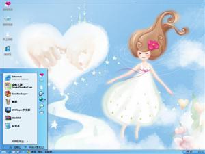 小女孩的童话电脑主题