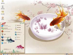 中国风・金鱼电脑主题