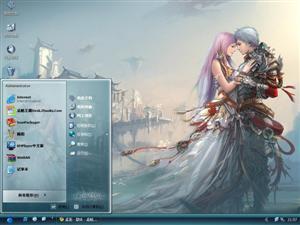 QQ幻想世界游戏电脑主题