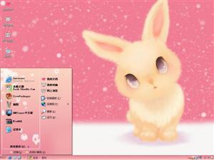 萌兔电脑主题