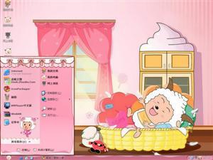 喜羊羊与灰太狼卡通电脑主题