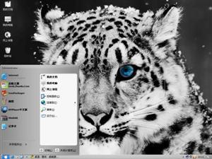 花豹电脑主题