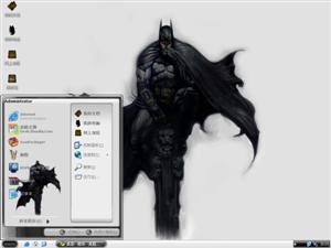 蝙蝠侠游戏电脑主题