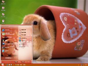 小兔乖乖电脑主题