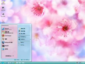 花儿盛开时电脑主题