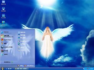 天使电脑主题