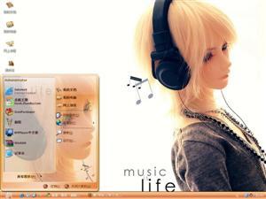 音乐是生命电脑主题