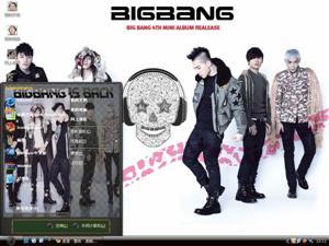 BigBang帅哥电脑主题
