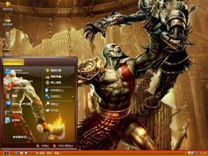 游戏战神电脑主题