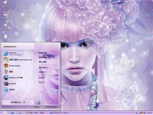 时尚CG美女电脑主题