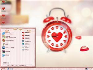 爱情时差电脑主题